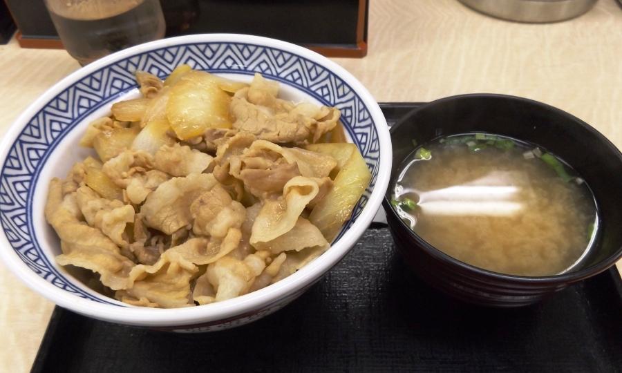 吉野家・豚丼復活!