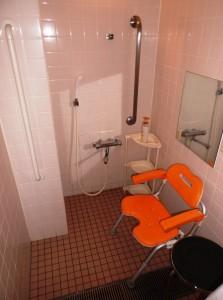 病棟のシャワー室