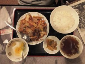 八宝菜定食880円