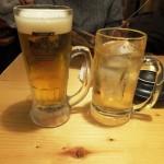 ビール&ジンジャエール