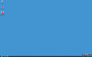 デスクトップがクリーンです。