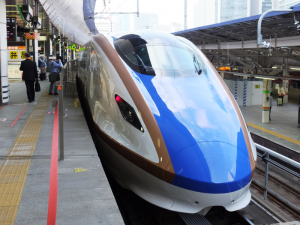 E7系新幹線外観
