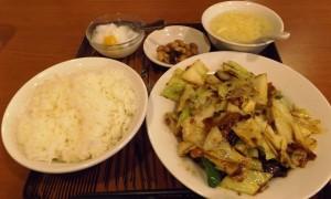 回鍋肉@美山飯店