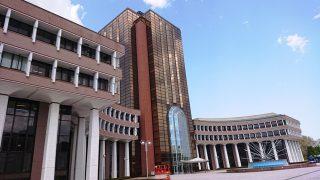 東京工科大学八王子キャンパス:片柳研究所の前から